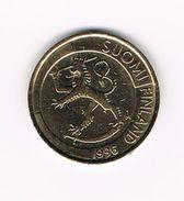 )  FINLAND  1 MARKKA  1996 - Finlande