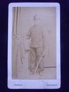 Ancienne Photographie   D'un Militaire   Artillerie  MOROGE Besançon - Krieg, Militär
