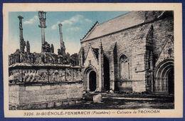 29 SAINT-JEAN-TROLIMON Calvaire De Tronoën - Colorisée - Saint-Jean-Trolimon