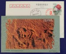 Totems Of Ancient Yue Kingdom,China 1999 Longyou Grottoes Landscape Advertising Pre-stamped Card - Archeologia
