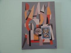 CARTE MAXIMUM CARD  PEINTURE DE JOSEPH PROBST LUXEMBOURG - Modern