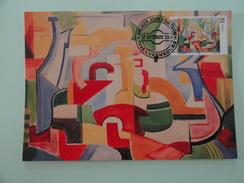 CARTE MAXIMUM CARD  PEINTURE DE WILL KESSELER LUXEMBOURG - Modern