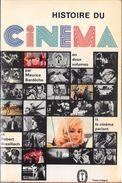 """""""Histoire Du CINEMA""""T2 (le Cinéma Parlant)-BARDECHE/BRASILLACH-Le Livre De Poche-1965-BE - Cinéma/Télévision"""