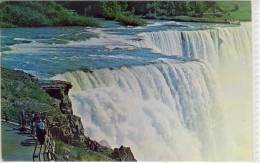 NIAGARA FALLS; Canada, View Of The American Falls , Used 1967 - Niagara Falls