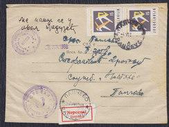 Yugoslavia 1960 Rome Olympic Games, Court Letter With Returnee, Pancevo, Loco - 1945-1992 Socialist Federal Republic Of Yugoslavia