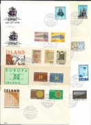 Iceland FDC (4 Scans) - Timbres