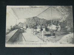 MESCHERS LES BAINS  1907   RESTAURANT TROGLODYTHE DE L ERMITAGE  CIRC OUI  EDIT - Meschers