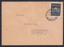 Yugoslavia 1960 Novi Sad Theatre, Letter, Beograd, Loco - 1945-1992 Sozialistische Föderative Republik Jugoslawien