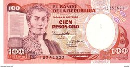 Colombia P.426 100 Pesos 01-01-1986 Unc - Colombie