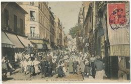 21 Paris Rue Ramponneau Couleur  Edit Inimitable D.K. - Arrondissement: 20