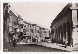 82  MOISSAC  RUE ANIMEE   CPSM  1940 50 - Moissac