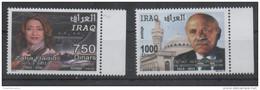 IRAQ, 2016, MNH, ARCHITECTS, 2v - Architecture