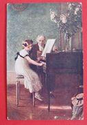 Muenier - Klavierstunde K.u.K. Militarpost Cetinje 1917 - Meunier, S.