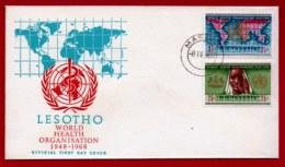 LESOTHO, 1966, Mint F.D.C., MI 21-24, Unesco. F905 - Lesotho (1966-...)