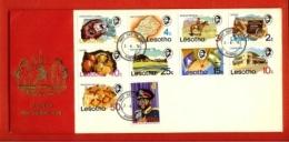 LESOTHO, 1976, Mint F.D.C., MI 199-208, Definitive's, F997 - Lesotho (1966-...)
