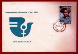 LESOTHO, 1975, Mint F.D.C., MI 190, International Woman Year, F3416 - Lesotho (1966-...)