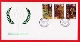LESOTHO, 1979, Mint F.D.C., MI 278-280,Year Of The Child, F3421 - Lesotho (1966-...)