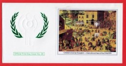 LESOTHO, 1979, Mint F.D.C., MI 278-280, Block 4, Year Of The Child, F3422 - Lesotho (1966-...)