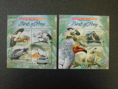 Uganda 2012 - Birds Of Prey - Endangered And Vulnerable Species Of Uganda - Uganda (1962-...)