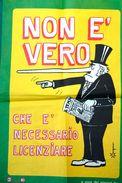 MANIFESTO A CURA DEI GIOVANI DC_FORMATO 41 X 60 Cm-OTTIMO STATO DI CONSERVAZIONE- - Posters