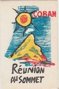 REUNION AU SOMMET - POËME De PAUL COBAN - Poésie