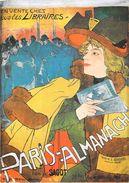 PUB PUBLICITE En Vente Chez Les Libraires PARIS-ALMANACH édité Par SAGIT Illustration Georges De Feure  *PRIX FIXE - Publicité