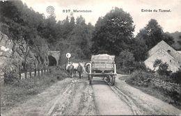 Maredsous - Entrée Du Tunnel (animée, Attelage, 1911) - Anhée