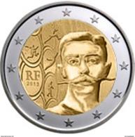 França    2 Euro  Cc  -   150th Anniversary Of Pierre De Coubertin's Birth ) - 2013  UNC - France