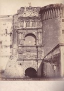 ACHILLE MAURI. TRIONFO D'ARAGONA, NAPOLI.ORIGINAL,RARE CIRCA 1870S 36.7X31.9CM - ITALY/ITALIA- BLEUP - Fotos