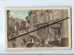 CPA -  Faulquemont -(Moselle ) - Rue De La République - Faulquemont