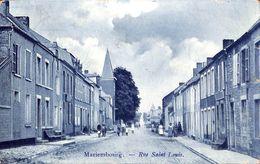 Mariembourg - Rue Saint Louis (animée, 1906... Adhésif Au Dos) - Couvin