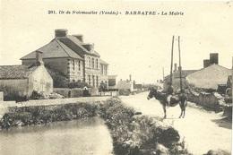 Ile De Noirmoutier  Barbatre Mairie - Ile De Noirmoutier