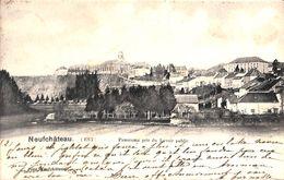Neufchâteau - Panorama Pris Du Lavoir Public (1901) - Neufchâteau