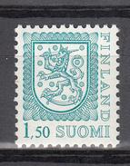 FINLAND POSTZEGEL LANDWAPEN 2e UITGAVE UITGAVE 1990 - Unused Stamps
