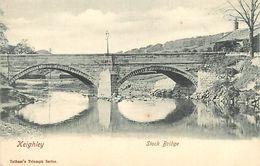 PIE 17-JM-6819 :  KEIGHLEY. STOCK BRIDGE - Angleterre