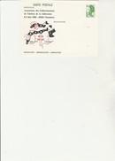 ENTIER POSTAL REPIQUE LIBERTE - A 1,40 - A.C.T.L.  RESISTANCE -DEPORTATION -LIBERATION -1982 - Enteros Postales