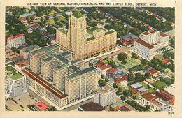 PIE 17-JM-6828 :  AIR VIEW. OF GENERAL MOTORS. DETROIT - Detroit