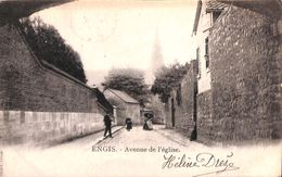 Engis - Avenue De L'Eglise (animée, 1904) - Engis