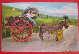 Caretto Di Vino, Vine Transport 1908 - Vignes