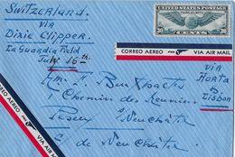 COLEBROOK - Connecticut → Letter To Switzerland ►Correo Aero/Via Air Mail Ca.1941◄ - Luftpost