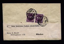 A4903) DR Infla Streifband Lörrach-Stetten 31.7.23 - Deutschland