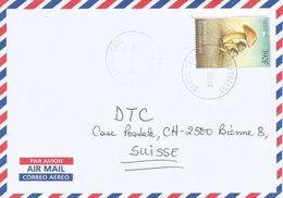 Centrafrique RCA CAR 2002 Bangui Hygrocybe Psittacina Mushroom Cover - Centraal-Afrikaanse Republiek