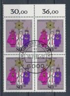 Duitsland/Germany/Allemagne/Deutschland 1983 4 Block Mi: 1196 Yt:  (Gebr/used/obl/o)(2722) - [7] West-Duitsland