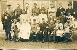 N°55217 -carte Photo Hôpital Militaire (probablement Trouville Sur Mer) - Guerre 1914-18