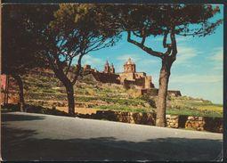 °°° 6527 - MALTA - MDINA - 1978 With Stamps °°° - Malta