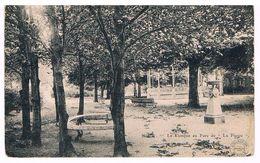 CPA  : NAMUR - La Plante - Le Kiosque Du Parc , Banc Arrondi - à Droite Maisons Du Quartier - Namur