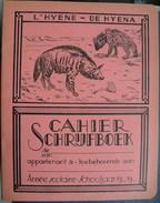 Schrijfboek Cahier De Hyena / L'hyene - Protège-cahiers