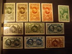 ROUMANIE  ROUMANIA  1927-34  Lot   Ancien Classiques Stamps - Otros