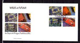"""Enveloppe 1er Jour De 2008 """" COQUES DE PIROGUES TRADITIONNELLES """" Parfait état. FDC - FDC"""