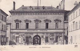 MOULINS - La Bibliothèque - Moulins
